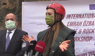İZMİR - Emrah Özbay Uluslararası Buz ve Kaya Tırmanışı Çalıştayı'nın ikinci etabı sona erdi