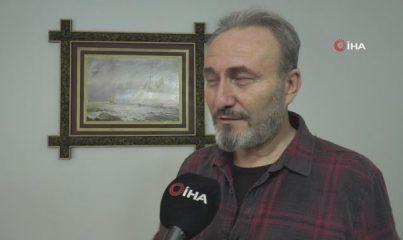 Kâğıttan tespihe Osmanlı padişahlarının fotoğraflarını işledi