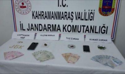 KAHRAMANMARAŞ - Uyuşturucu operasyonunda iki şüpheli yakalandı
