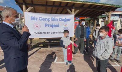 """KARABÜK - """"Bir Genç Bin Değer Projesi"""" Safranbolu'da başlatıldı"""