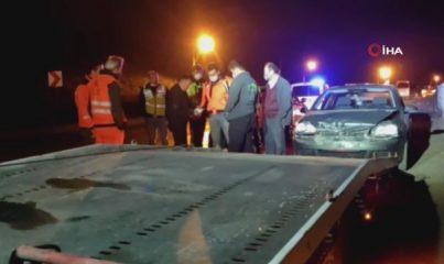 Kaza yapan sürücü 265 promil alkollü çıktı