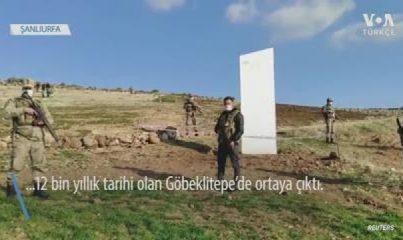 Metal Dikilitaş Şimdi de Göbeklitepe'de Ortaya Çıktı