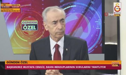 """Mustafa Cengiz: """"İrfan Can için son olarak 5.5 milyon Euro, Linnes ve yüzde 20 dedik"""" -2-"""