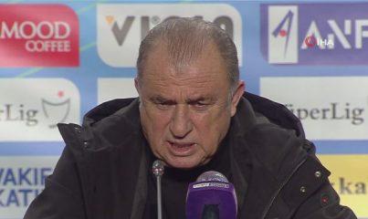 Fatih Terim'den MKE Ankaragücü maçı yorumu