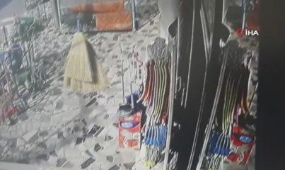Kartal'daki cep telefonu hırsızlığı kamerada