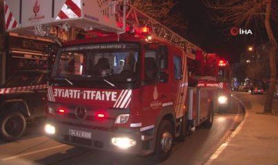 Maltepe'de perdecide çıkan yangında 57 yaşındaki engelli adam hayatını kaybetti
