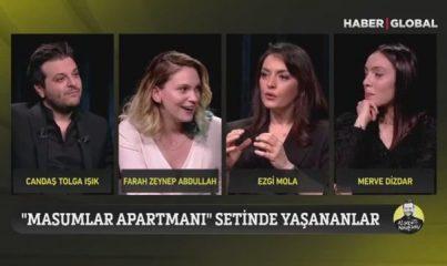 Ezgi Mola ve Farah Zeynep Abdullah, Masumlar Apartmanı'na damga vuran tokat sahnesini anlattı