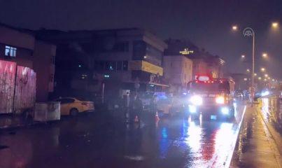 İSTANBUL - Ataşehir'de aracın çarpması sonucu otobüsün altına sürüklenen kadın hayatını kaybetti
