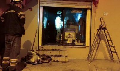 İSTANBUL - Beykoz'da bir iş yerinde çıkan yangın söndürüldü