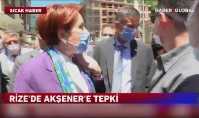 Meral Akşener'in İkizdere ziyaretinde gerginlik