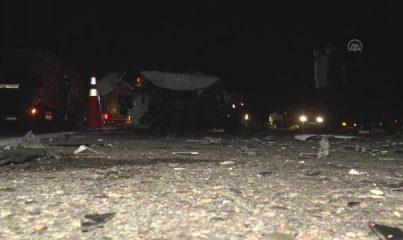 DİYARBAKIR - İki otomobil çarpıştı: 4'ü ağır, 6 yaralı