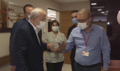 GAZİANTEP - Kılıçdaroğlu, lösemi tedavisi gören 4 yaşındaki İkbal Çoban'ı hastanede ziyaret etti