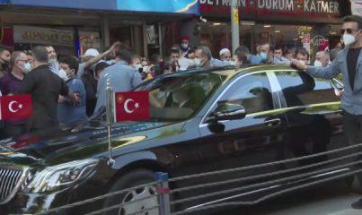 İSTANBUL - Cumhurbaşkanı Erdoğan, vatandaşlarla sohbet etti
