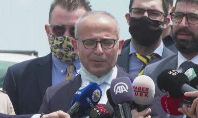 """İSTANBUL - Fenerbahçe Kulübünün avukatı ile yöneticisinden """"Futbolda şike kumpası"""" davasının kararıyla ilgili açıklama"""