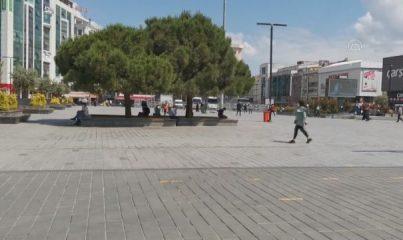 İSTANBUL - Kısıtlamasız ilk cumartesi günü kentte yoğunluk yaşanıyor - Esenyurt