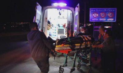 MANİSA - Trafik kazasında 3 kişi yaralandı