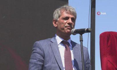 Mavi bayraklı bin 500 şezlong kapasiteli Çamyuva Halk Plajı açıldı