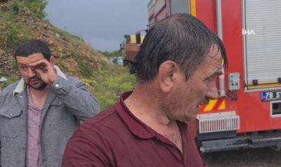Piknik dönüşü feci kaza, otomobil kağıt gibi parçalandı: 1 ölü, 2 yaralı