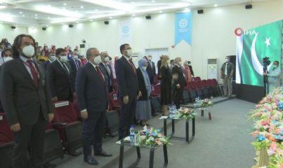 TBMM Başkanı Şentop, İslamabad'da Pak-Türk Maarif Okulu'nu ziyaret etti