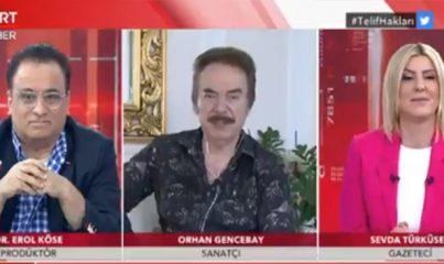 Ünlü sanatçı Orhan Gencebay'dan telif haklarıyla ilgili önemli açıklama!