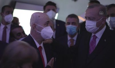 ANKARA - Cumhurbaşkanı Erdoğan, 15 Temmuz Demokrasi Müzesi'ni gezdi