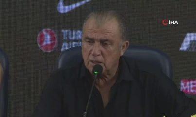 """- Fatih Terim: """"İki maç sonunda hak eden turu geçti"""""""