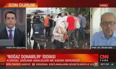 İstanbul Boğazı donacak mı? Prof. Dr. Orhan Şen'den o iddiaya yanıt