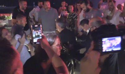 """MUĞLA - Beşiktaş Kulübü Başkanı Ahmet Nur Çebi: """"Transferler gizli yapılır, transfer bittiği gün açıklanır"""""""