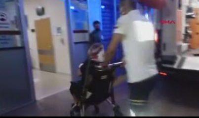 BURSA - Hafif ticari araç ile motosiklet çarpıştı 1 ölü, 2 yaralı