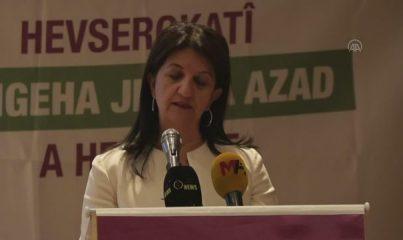 ANKARA - HDP Eş Genel Başkanı Buldan, partisinin Yerel Yönetimler Kadın Konferansı'nda konuştu