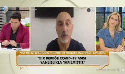 """""""Bebeklere yanlış aşı yapıldı"""" iddiasını ortaya atan Prof. Dr. Zafer Kurugöl'den yeni açıklama"""