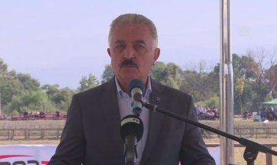 """BURSA - """"2021 Rahvan Binicilik Türkiye Şampiyonası"""" yapıldı"""