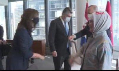 Cumhurbaşkanı Erdoğan, Hırvatistan Cumhurbaşkanı Milanovic'le ikili görüştü