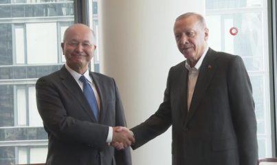 - Cumhurbaşkanı Erdoğan, Irak Cumhurbaşkanı Salih ile görüştü