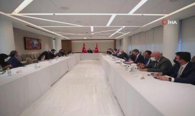 Cumhurbaşkanı Erdoğan, New York Times heyetini kabul etti