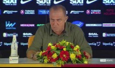 Fatih Terim'in Göztepe maçı sonrası açıklamaları (1)