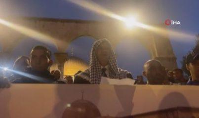 - Filistinli ailelerin çağrısının ardından Mescid-i Aksa'ya akın