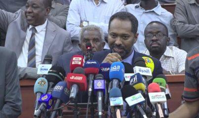 """HARTUM - Sudan Kabine İşleri Bakanı Yusuf: """"Ordu, geçiş sürecini zayıflatmayı amaçlıyor"""""""