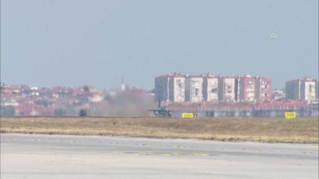 İSTANBUL - TEKNOFEST, Milli Kanatlar gösteri uçuşu ile devam ediyor