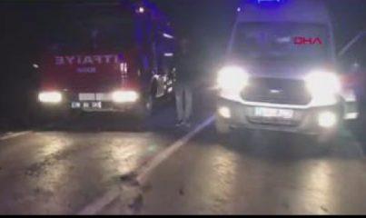 Karabük - Otomobil ve pikap kafa kafaya çarpıştı: 2 ölü, 6 yaralı
