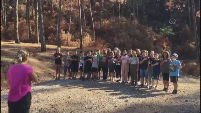 MUĞLA - Marmaris'te öğrenciler ormanları korumaya yemin etti