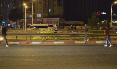 Polis merkezine gitmemek için intihara kalkışan şahıs biber gazı ile etkisiz hale getirildi
