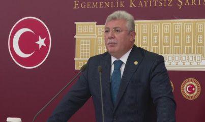 """TBMM - Akbaşoğlu: """"CHP yönetimine, milletimizin değerlerine düşmanlıktan vazgeçmelerini öğütlüyorum"""""""