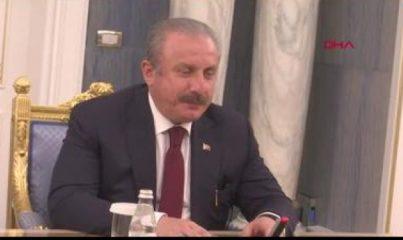 TBMM Başkanı Şentop, Kazakistan Cumhuriyeti Kurucu Cumhurbaşkanı Nazarbayev ile görüştü